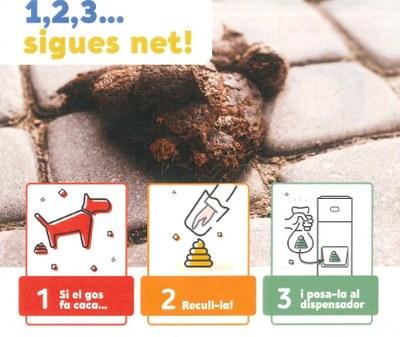 L'Ajuntament d'Olèrdola prepara una campanya de civisme per mantenir la via pública neta d'excrements de gos