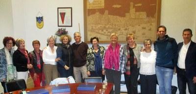 L'Ajuntament d'Olèrdola reconeix la feina feta al municipi per mestres que s'han jubilat aquests darrers 4 anys