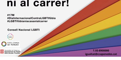 L'Ajuntament d'Olèrdola s'adhereix a la declaració contra l'LGTBIfòbia