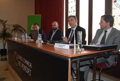 El director general de telecomunicacions, Carles Flamerich, en una jornada feta aquest dijous al CCAP