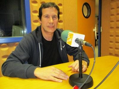 El regidor d'ensenyament, Pere Sadurní