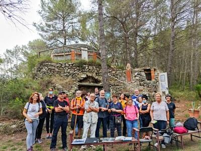 L'Ajuntament difon el patrimoni constructiu de les barraques de pedra seca presents a Olèrdola