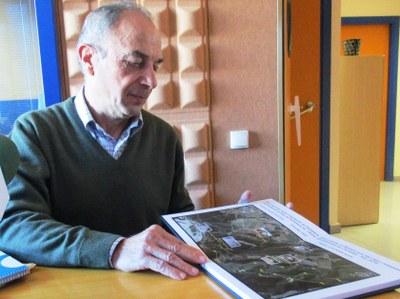 Joan Domènech, membre del grup que ha recuperat les barraques, guiarà la ruta