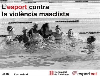 L'Ajuntament dóna suport al Manifest del Món de l'Esport contra la violència masclista