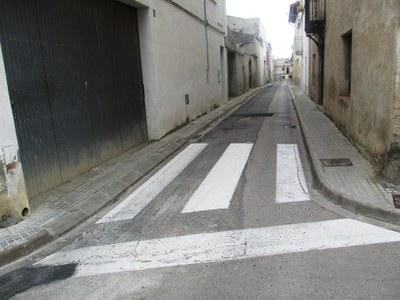 L'Ajuntament exposarà als veïns un estudi per a convertir en plataforma única els carrers de Moja