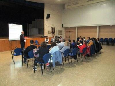 Sessió de formació a les entitats convocada per l'Ajuntament