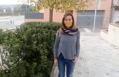 Mireia Mancera, regidora de medi natural de l'Ajuntament d'Olèrdola
