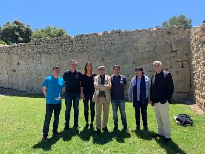 D'esquerra a dreta: Josep Tort, Enric Calpena, Arantxa Torres, Bienve Moya, Xavi Esteve, Núria Molist i  José Enrique Ruiz-Domènec