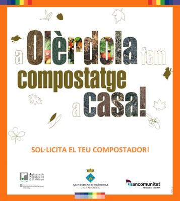L'Ajuntament promou una nova campanya de cessió de compostadors per a reciclar la matèria orgànica