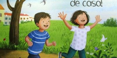 """L'Ajuntament repartirà el conte """"Ja puc sortir de casa!"""" a les llars del municipi amb menors de 10 anys"""
