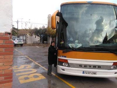 L'alcalde anuncia que el servei de bus de Moja a Vilafranca millorarà els horaris