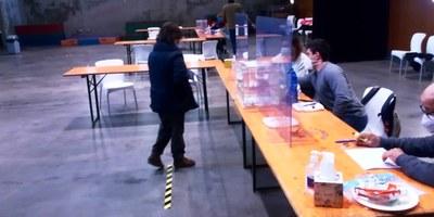 L'alcalde d'Olèrdola agraeix a la ciutadania el seu civisme durant la jornada electoral del 14F