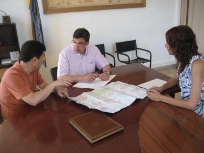 El delegat del Govern visitava Olèrdola el passat mes de juny
