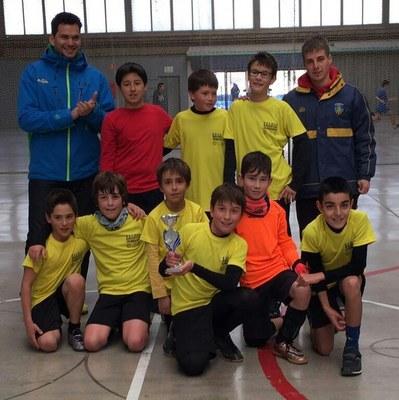 L'aleví de futbol sala de l'Escola Esportiva d'Olèrdola es classifica segon en els JESPE