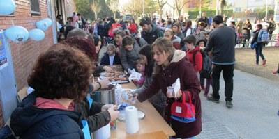 L'AMPA de l'escola Circell de Moja recapta 329 € a benefici de la investigació del càncer infantil