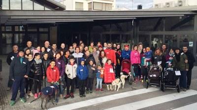 L'AMPA de l'escola Circell i el Grup de Carnaval de Moja recapten 356 € per La Marató