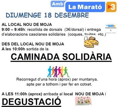 L'AMPA de l'escola Circell i el Grup de Carnaval de Moja tornen a sumar esforços per La Marató