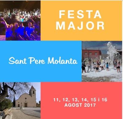 L'aposta per la música de ball en directe torna a distingir la Festa Major de Sant Pere Molanta