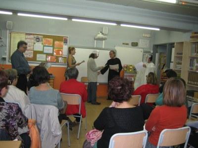 L'Arrel mostra un Espriu divers en la lectura dramatitzada feta a la biblioteca de l'escola Circell