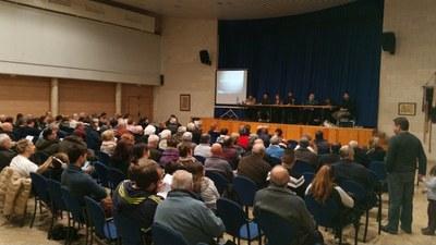 L'assemblea tenia lloc diumenge a Sant Miquel