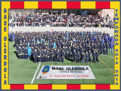El club el formen 300 infants i joves, distribuits en 22 equips