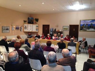 L'assemblea reunia a una quarantena de socis