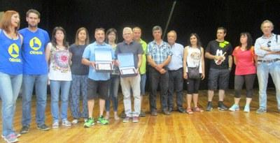 L'Associació rebia aquest any el premi Rossend Montané