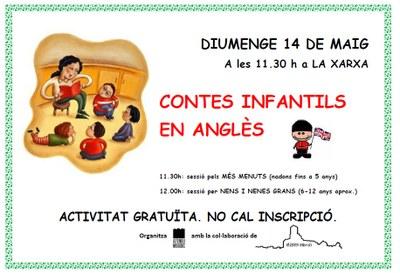 L'Ateneu Mogenc organitza per aquest diumenge una sessió de contes infantils en anglès