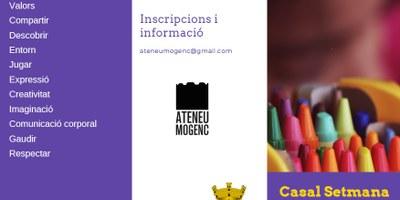 L'Ateneu Mogenc organitza un Casal de Setmana Santa