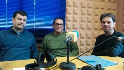Pep Tort, Albert Taulé i Josep Sesma
