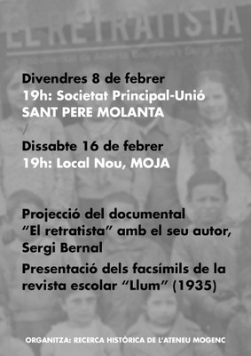 """L'Ateneu Mogenc prepara la reimpressió de la revista escolar """"Llum"""", elaborada per infants del municipi durant la 2a República"""