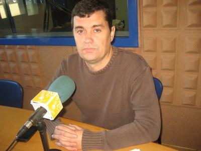 Josep Tort, alcalde d'Olèrdola