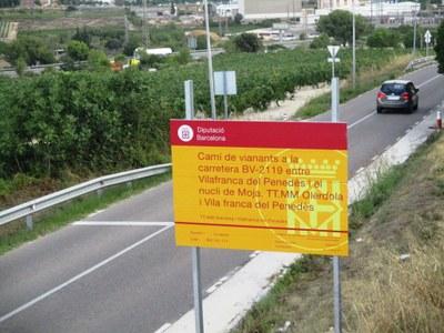 Els cartells que anuncien les obres ja s'han instal·lat