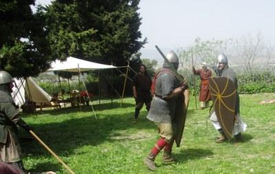 """L'època medieval ha reviscut aquest diumenge a Olèrdola amb la jornada """"Recreant la història"""""""