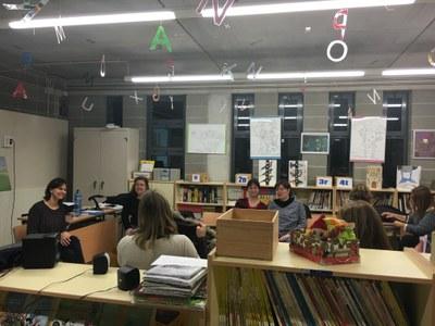 El passat 22 de febrer l'Ajuntament organitzava un taller a Sant Pere Molanta