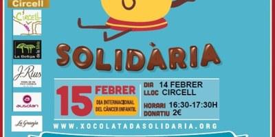 L'escola Circell de Moja acull aquesta tarda la 3a Xocolatada solidària per a la investigació del càncer infantil