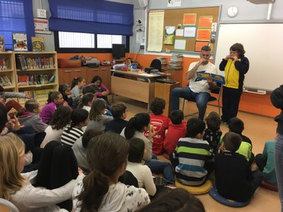 L'escola Circell de Moja aprofita Sant Jordi per a realitzar una atractiva setmana cultural