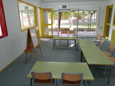 L'Escola d'Idiomes d'Olèrdola s'ha estrenat aquest dilluns amb 40 alumnes matriculats