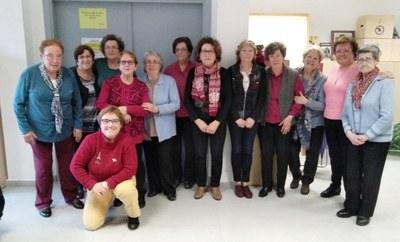 L'Escola de Puntaires d'Olèrdola ha celebrat el seu  22è aniversari
