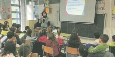 """L'escola Rossend Montané de Sant Pere Molanta participa en el projecte """"Aquí STEAM UPC"""" per fomentar vocacions científiques"""