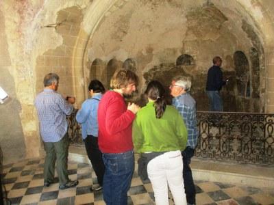 L'església romànica del Sant Sepulcre s'ha pogut visitar aquest diumenge