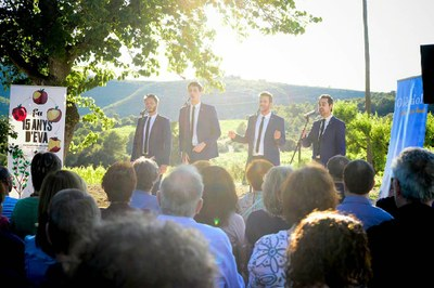 L'èxit del concert de The Hanfris a Viladellops referma l'aposta d'Olèrdola pel Festival EVA