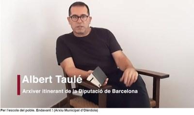Albert Taulé, arxiver