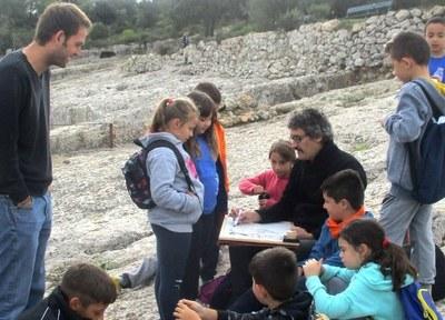 Garcia Quera participava el passat 31 d'octubre en una trobada de l'escola de Sant Pere Molanta al castell