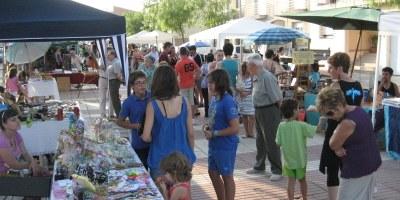 L'increment d'expositors i la concentració d'activitats fan que la Fira d'Artesania de Moja experimenti un notable increment de públic