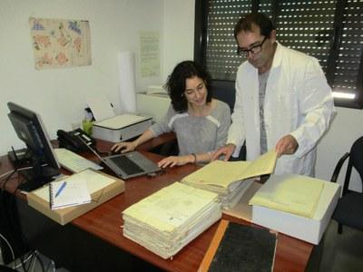 L'Oficina de Patrimoni de la  Diputació de Barcelona ha analitzat l'arxiu municipal d'Olèrdola