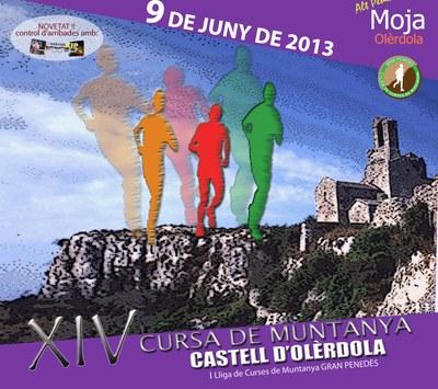 """La 14a Cursa de muntanya """"Castell d'Olèrdola"""" es disputarà el proper diumenge 9 de juny"""