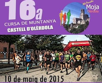 """La 16a cursa de muntanya """"Castell d'Olèrdola"""" es disputarà el proper diumenge 10 de maig"""