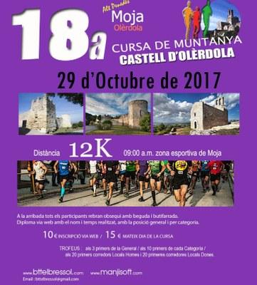 """La 18a Cursa """"Castell d'Olèrdola"""" inclou una caminada paral·lela per barraques de pedra seca"""