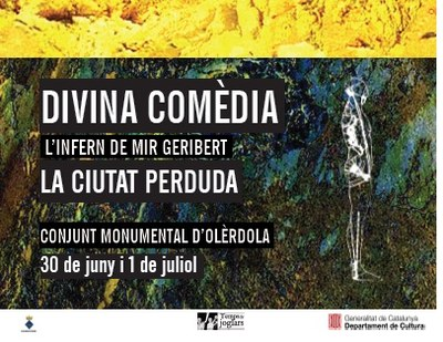 """La 2a edició del festival """"Olèrdola, la Ciutat Perduda"""", el 30 de juny i 1 de juliol"""